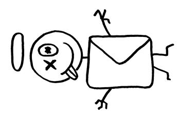 Verschick die Leiche per Post!