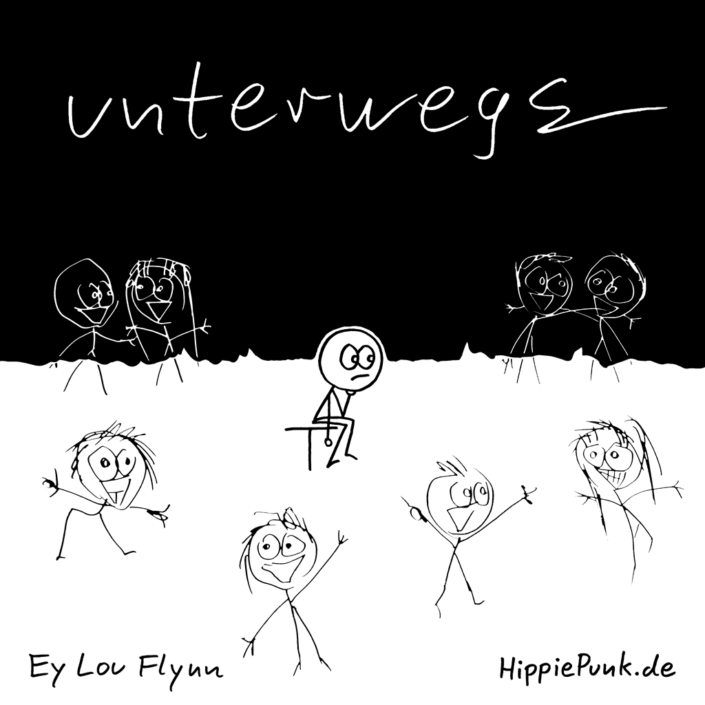 Unterwegs | Ey Lou Flynn | HippiePunk!